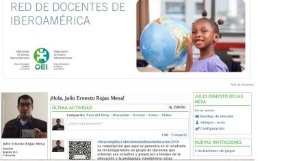 Perfil en redOEI docentes iberoamericanos